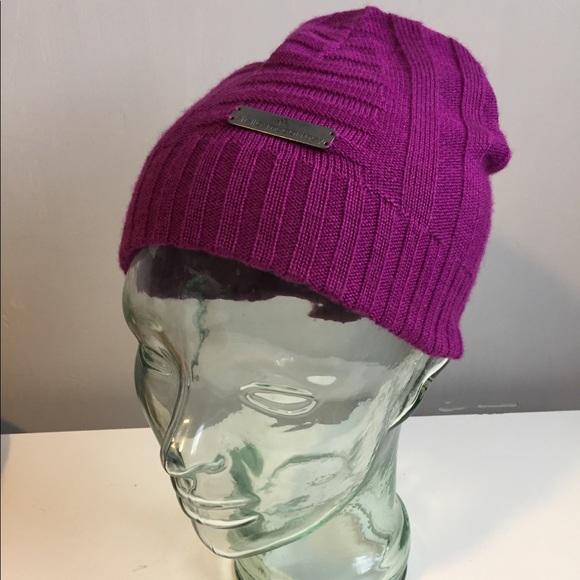 f18224ad636 Adidas by Stella McCartney Accessories - Stella McCartney Adidas Purple  Wool Blend Beanie
